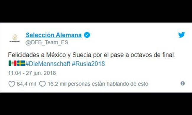 Alemania México Suecia