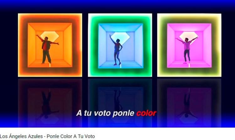 Los Ángeles Azules voto ponle color