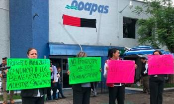 huelga OOAPAS Morelia