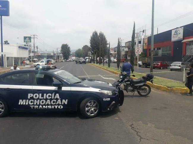 tiroteo comuneros Uruapan a