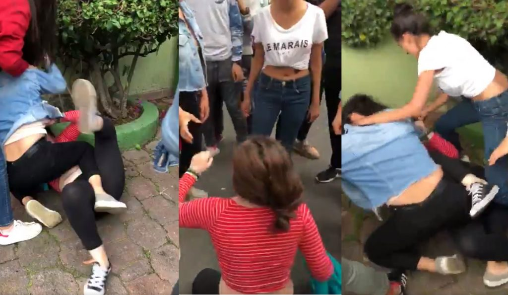 #Video Indigna En Redes Golpiza Que Recibe Chica Por Estudiantes De ULA