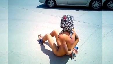Santos desnudo golpeado atado Nogales