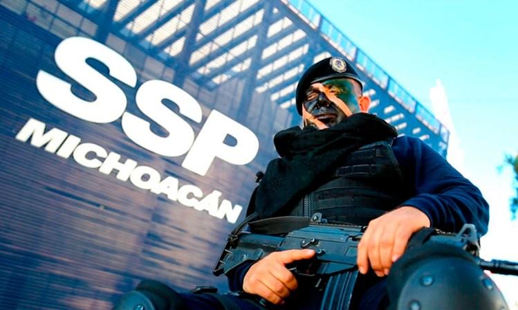 ser policía Michoacán