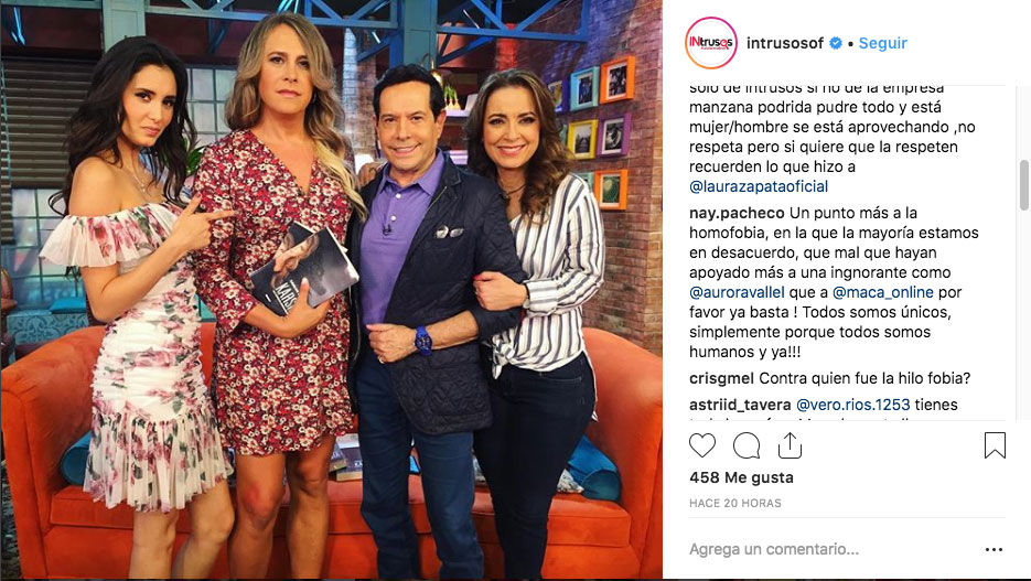 #Video Aurora Valle Hace Caras A Actor Trans En Pleno Programa