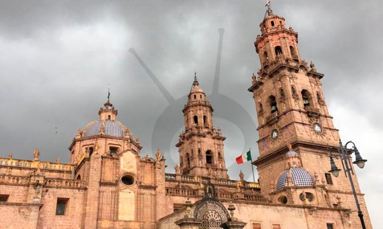 Catedral Morelia iluminación Roberto Monroy a
