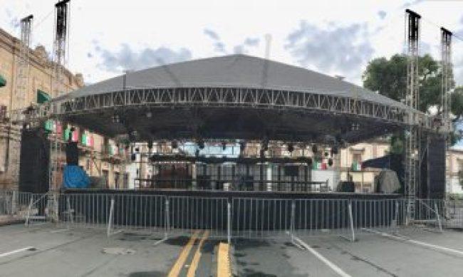 escenario Lupillo Rivera