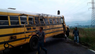 school bus accidente Michoacán personas