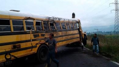 school bus accidente Michoacán personas