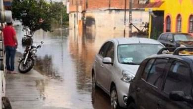 Prados Verdes inundaciones Morelia
