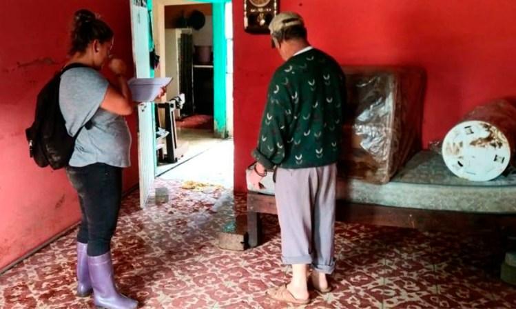 censo afectados inundaciones Morelia octubre 2018 a