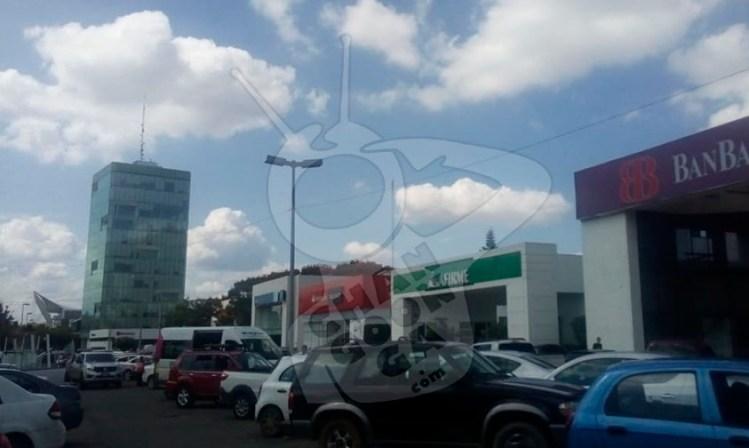 cuentahabiente asalto zona bancaria Morelia