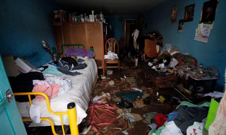 inundación Morelia casas