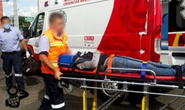 mujeres lesionadas Morelia accidente