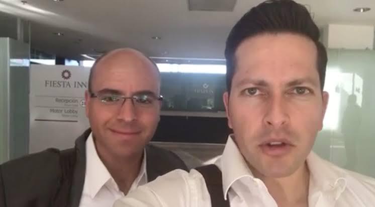 El Yisus y el Warrior dos de los comentaristas estelares de TV Azteca