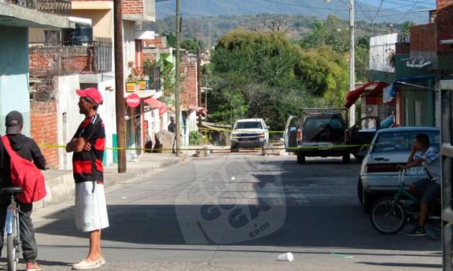 Rosalío balazo Jacona Michoacán