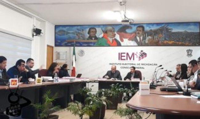 caso Nahuatzen Michoacán IEM