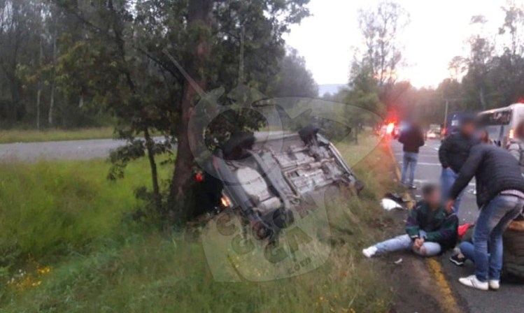 heridos Morelia accidente vehicular a