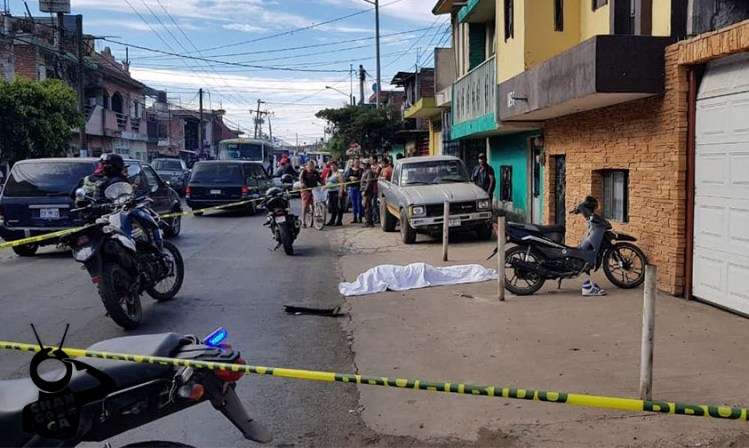 Bici Muerto Zamora moto