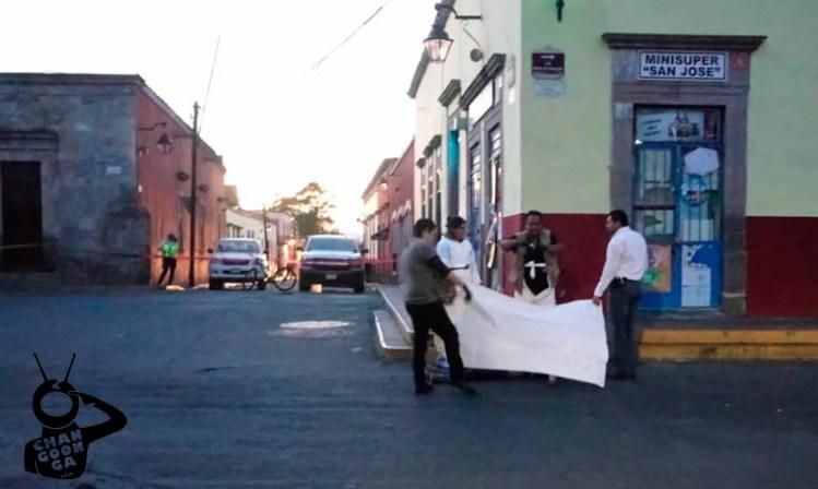 Mujer atropellada Centro Histórico