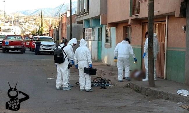 ciclista asesinado Queréndaro Michoacán