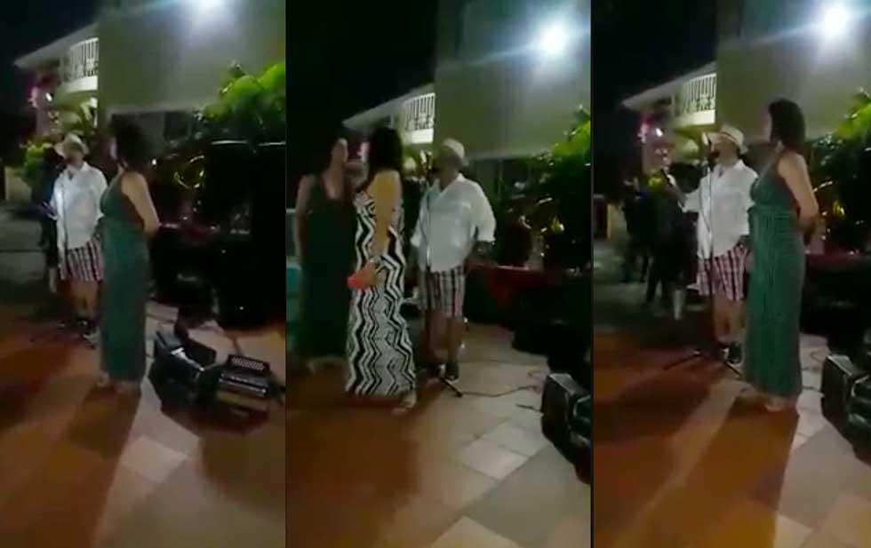 #Vídeo Señor En Plena Pachanga Revela Infidelidad De Su Pareja