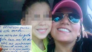 Photo of Revelan Desgarradora Carta Póstuma De Mamá Que Se Lanza De Puente Con Su Pequeño