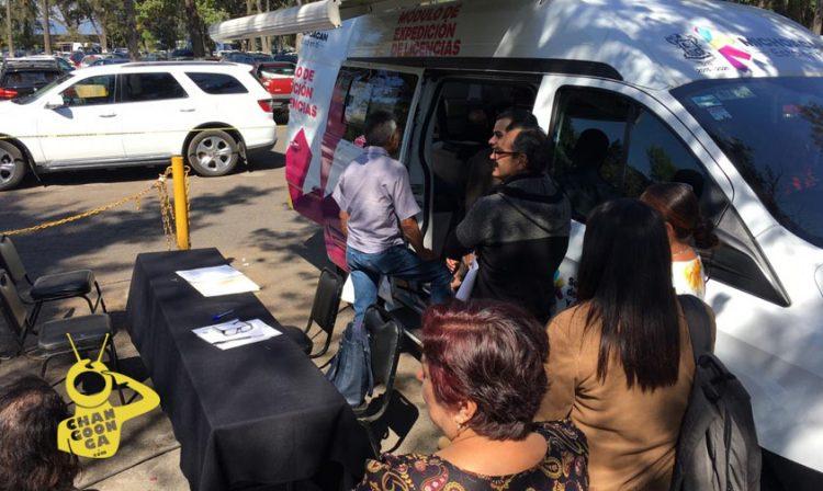Michoacán Instalan Módulos Móviles De Expedición De