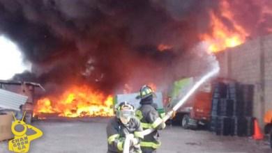 bodega-PET-incendio-Lázaro-Cárdenas-Michoacán
