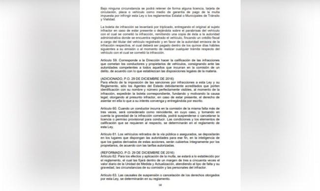 #Denúnciamesta-multa-policía
