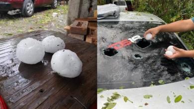 Photo of #Video Bolas Gigantes De Granizo Sorprenden A Habitantes En De San Luis Potosí