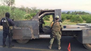 Photo of #Michoacán Aseguran Camioneta Que Tenía Blindaje Artesanal