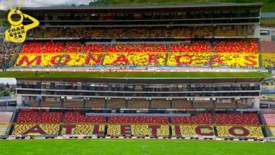 """Photo of #Morelia Adiós """"Monarcas""""… Ya Se Lee """"Atlético"""" En Tribunas Del Estadio Morelos"""
