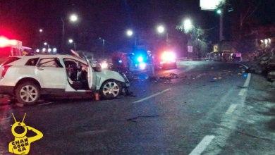 Photo of Accidente De Autos Provoca Incendio Sobre La Morelia-Salamanca