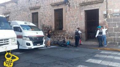 Photo of #Morelia Combiero De Ruta Guinda Y Motociclista Se Agarran A Golpes En Centro