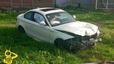 Photo of #Michoacán Abandonan Auto BMW Chocado Por Boulevard Playero En Lázaro Cárdenas