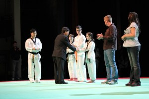 Changs Martial Arts Taekwondo Night at the Bell Center in Surrey