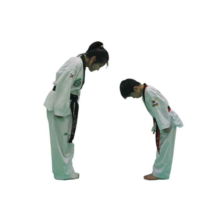 Changs Taekwondo Showing Respect