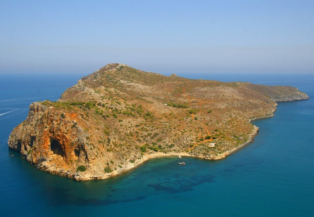 Theodorou island from above
