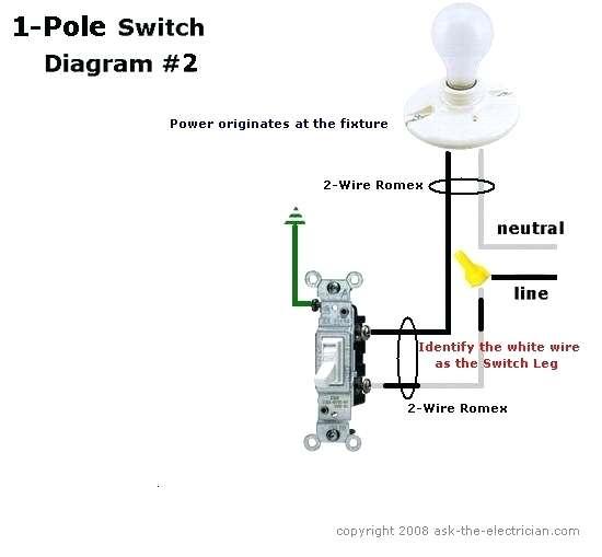 Single Switch Wiring