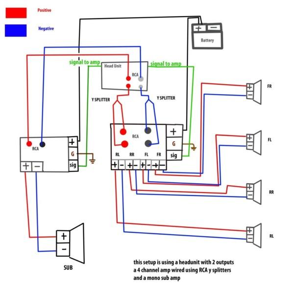 boat amplifier wiring diagram - jvc head unit eq amp wiring diagram