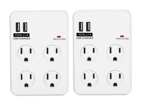 2 Plug Outlet