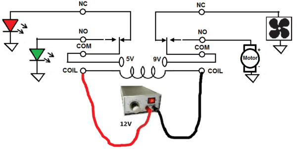 230v Relay Wiring Diagram