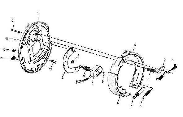 Electric Brakes For Trailer Diagram