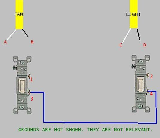 Wiring Diagram Switch Loop Ceiling Fan Pictures To Pin On Pinterest