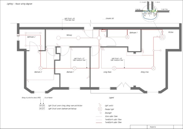 Home Electrical Schematic