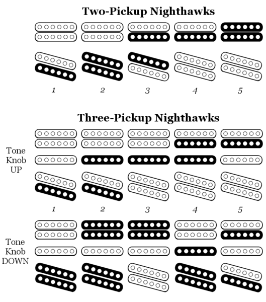 Epiphone Nighthawk Wiring Diagram