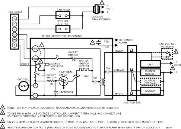Power Flame Burner Wiring Diagram