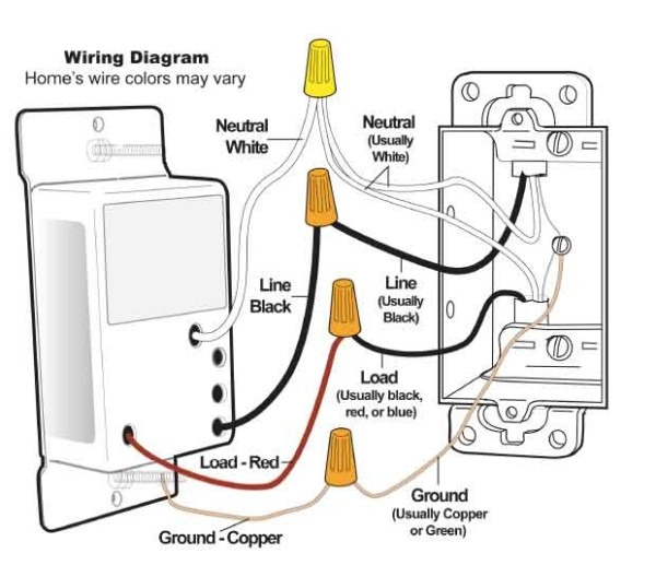 Wall Switch Wiring Diagram