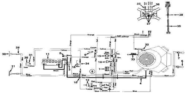 Mtd Wiring Diagram