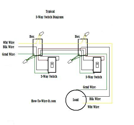 How To Wire A Three Way Toggle Switch